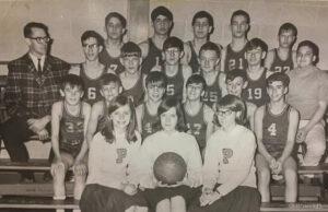 Old Mission Peninsula School Basketball Team Circa 1960s   Dave McManus Photo