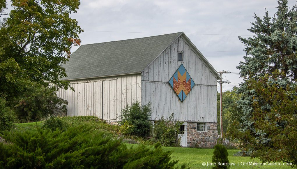 Old Mission History: McManus Barn on Center Road on the Old Mission Peninsula
