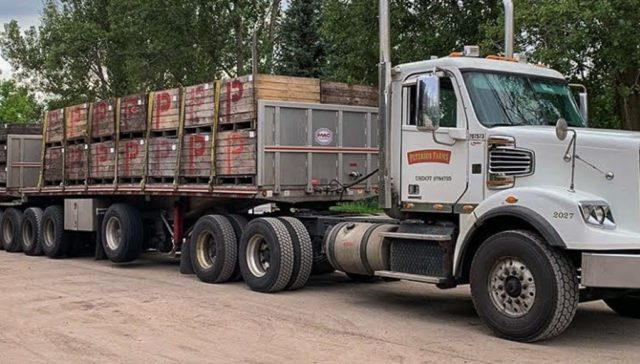 Last Truck at Johnson Farms for Cherry Season 2019 | Heatherlyn Johnson Photo
