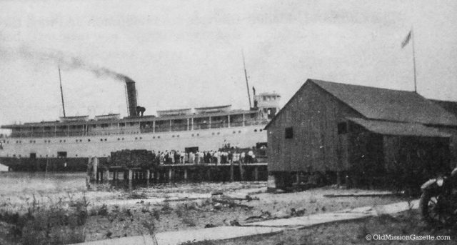 Old Mission Dock, 1900s