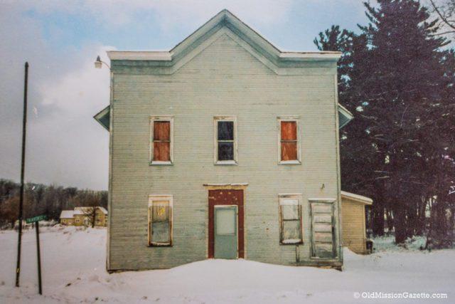Old Mission Legion Hall History, Old Mission Peninsula