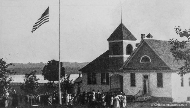 Dedication of Old Mission School, 1939