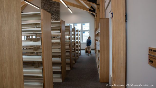 Peninsula Community Library Move-In Day on the Old Mission Peninsula