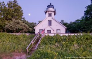 Mission Point Lighthouse on the Old Mission Peninsula, Parks Committee