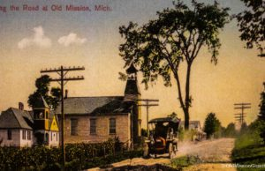 Old Mission Village circa early 1900s | Johnson Family Archives