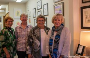 Tinker Studio Art Reception features Judy Pohl, Mary Obrecht, Mary Shultz and Pam Prairie