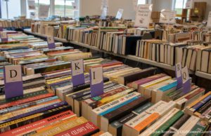 Friends Book Sale at Peninsula Community Library on the Old Mission Peninsula; Used Books | Jane Boursaw Photo