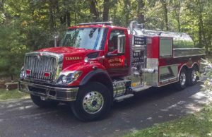 Peninsula Fire Department Open House, New Tanker and Engine, Old Mission Peninsula