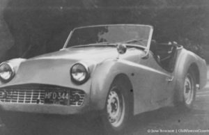 How Tim Boursaw and his Triumph TR3 ended up in the Empire Hill Climb