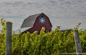 Kniss Barn on Kroupa Road on the Old Mission Peninsula