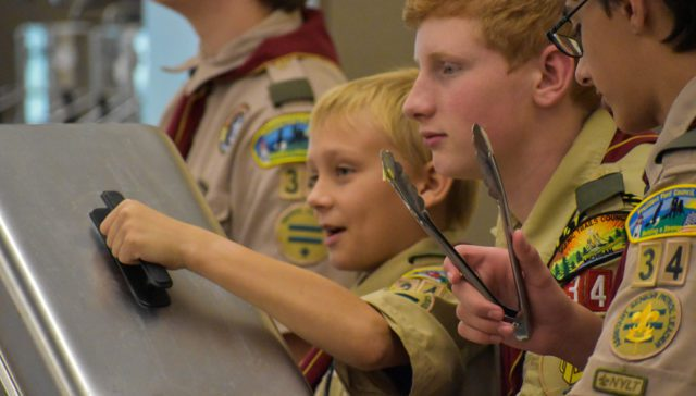 Boy Scout Troop 34 host spaghetti fundraiser on the Old Mission Peninsula
