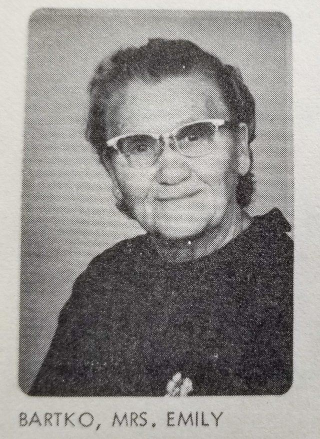 Emily Bartko of Old Mission Peninsula | 1971 Ogdensburg UMC Directory