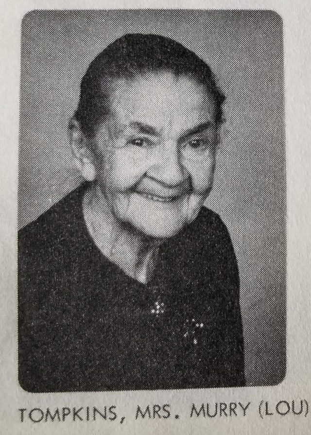 Mrs. Murry (Lou) Tompkins of Old Mission Peninsula | 1971 Ogdensburg UMC Directory