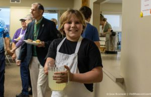 Gage Warren at the OMPUMC Harvest Dinner | Jane Boursaw Photo