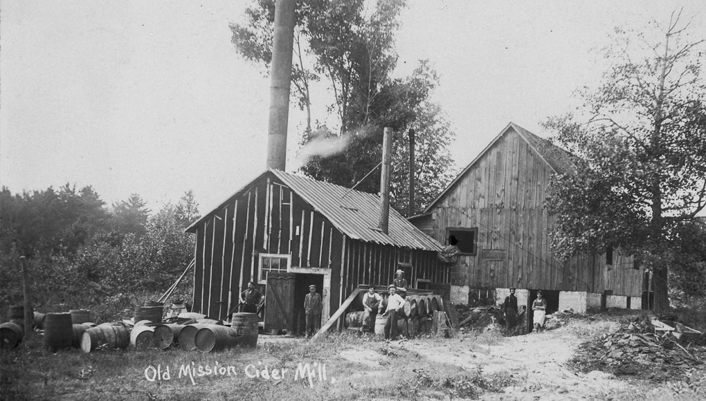 Old Mission Cider Mill on the Old Mission Peninsula