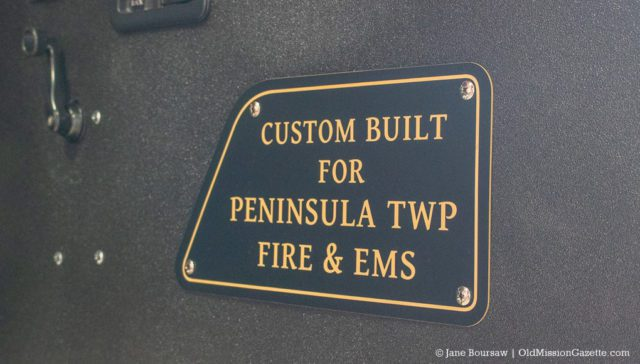 Peninsula Fire Department Open House on the Old Mission Peninsula, 10-12-19