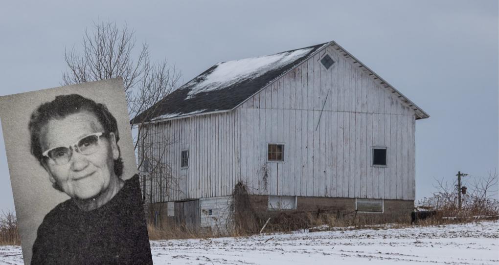 Emily Bartko and Bartko Barn on the Old Mission Peninsula