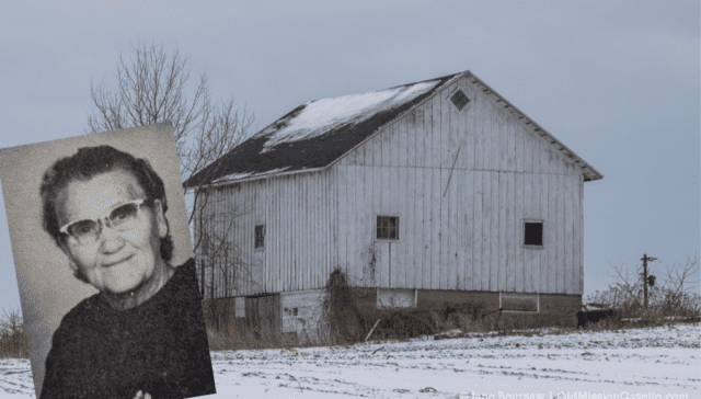 Emily Bartko and Bartko Barn on the Old Mission Peninsula