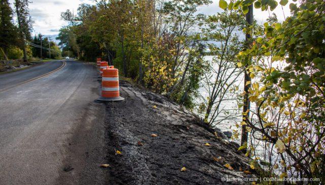 Re-opened Peninsula Drive after storm | Jane Boursaw Photo