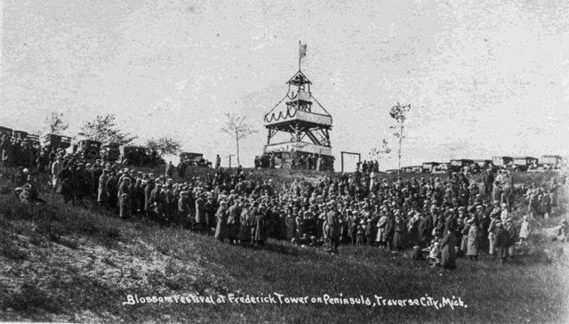 Old Mission History: Friedrich Tower on the Old Mission Peninsula