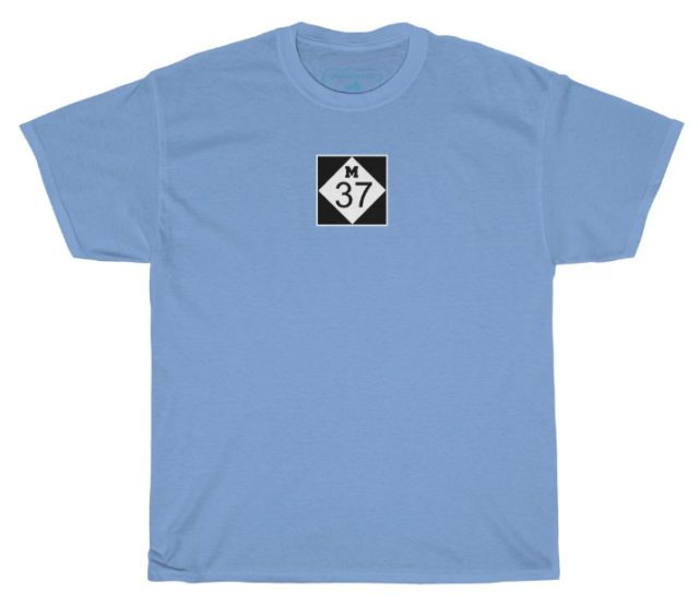 M37 T-Shirt at OMPstore.com, aka the Old Mission Peninsula Store on the Old Mission Peninsula