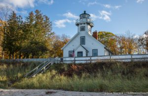 Mission Point Lighthouse on the Old Mission Peninsula