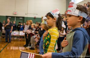OMPS Veterans Day 2019 at Old Mission Peninsula School