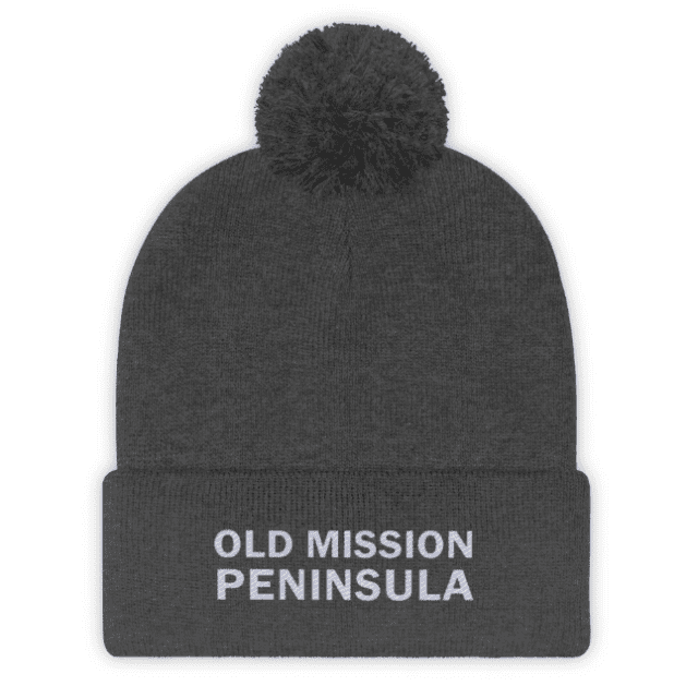 Old Mission Peninsula Beanie at OMPstore.com, aka the Old Mission Peninsula Store