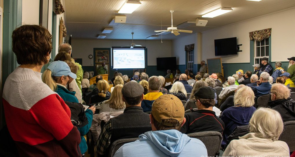 Shoreline Workshop Draws Crowd at Peninsula Township Hall on the Old Mission Peninsula
