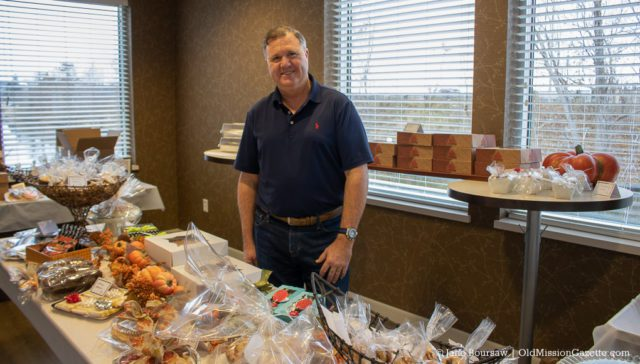 Ted Schweitzer Bake Sale 2019 at Real Estate One in Traverse City, Michigan.