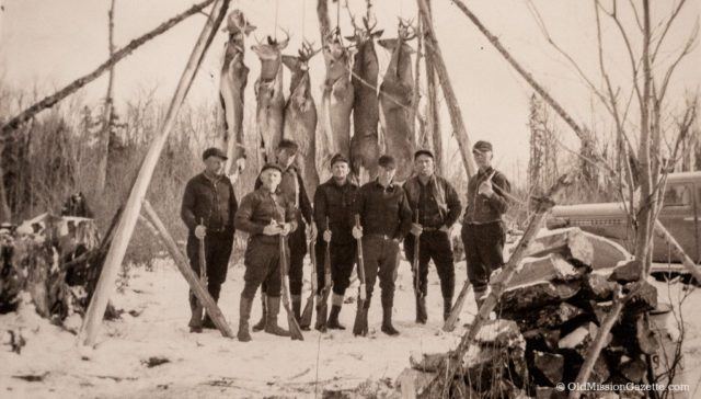 Old Mission Peninsula Hunters, Circa 1940s | Solomonson Family Archives