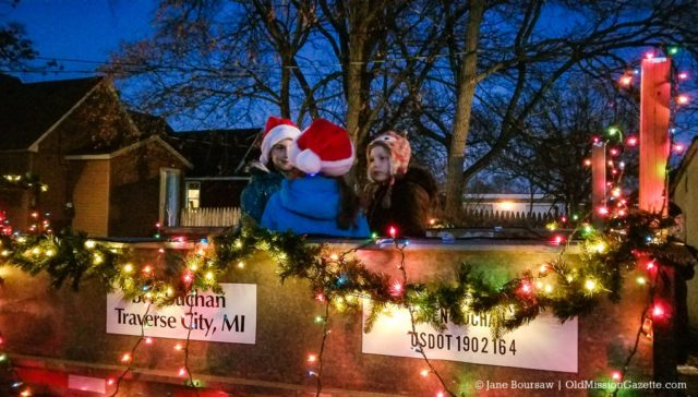 Caroling with Buchans in Traverse City, Michigan