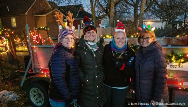 Caroling with Buchans in Traverse City