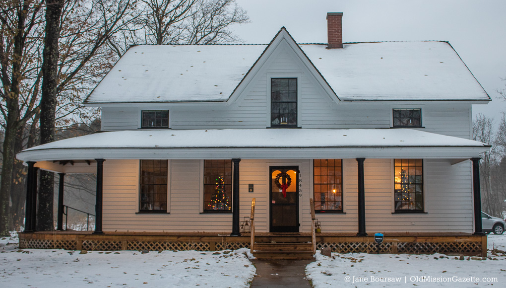Dougherty Mission House on the Old Mission Peninsula | Jane Boursaw Photo