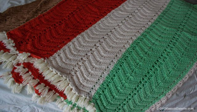 Blanket made by Evelyn Kroupa for Jane Johnson Boursaw | Jane Boursaw Photo