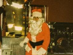 Santa at Peninsula Fire Department 1997