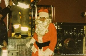 Santa at Peninsula Fire Department 1997
