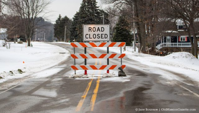 Erosion Issues Force Closure of Bluff Road on the Old Mission Peninsula