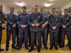 Jan. 14, 2020: Firefighter of the Year Award Recipient Kyle Sarber with the Peninsula Fire Department | Jason Gillman Photo