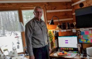 Cutting the Cord - AcenTek's John DeVol installing Internet on the Old Mission Peninsula | Jane Boursaw Photo