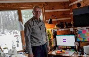 Cutting the Cord - AcenTek's John DeVol installing Internet on the Old Mission Peninsula | Jane Boursaw Photo