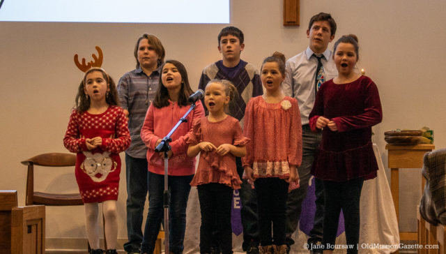 Kids Program at Old Mission Peninsula United Methodist Church | Jane Boursaw Photo