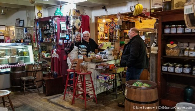 Jim and Marcy Richards of Old Mission General Store on the Old Mission Peninsula