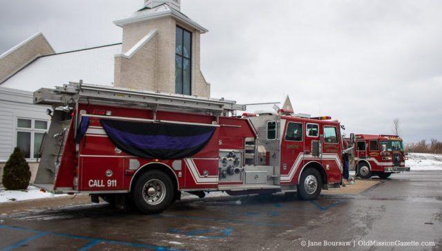 Rich VanderMey Funeral, St. Joseph Catholic Church on the Old Mission Peninsula, Jan. 4, 2020