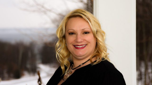Ann Pettyjohn, General Manager for Hawthorne Vineyards on the Old Mission Peninsula