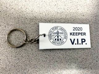Mission Point Lighthouse VIP Keeper Card