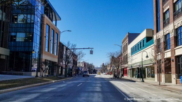 Downtown Traverse City Amidst COVID-19 Pandemic | Jane Boursaw Photo