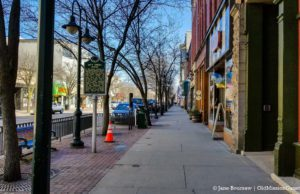 Downtown Traverse City Amidst COVID-19 Pandemic | Jane Boursaw Photo