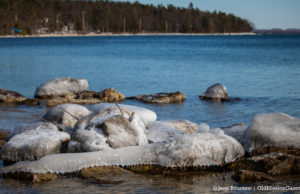 Haserot Beach and Old Mission Point on the Old Mission Peninsula