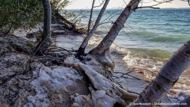West Bay on the Old Mission Peninsula near Mission Point Lighthouse | Jane Boursaw Photo
